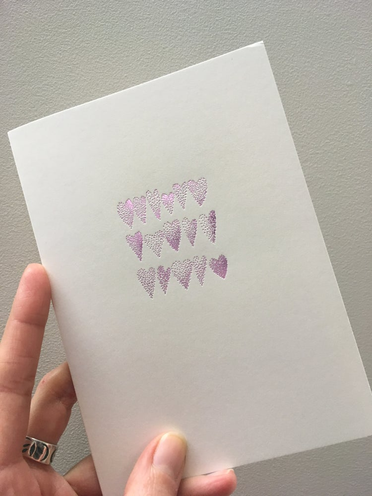 Image of Hearts card