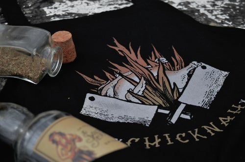 Image of ChickNah Ltd Edition Cooking Apron / T-Shirt