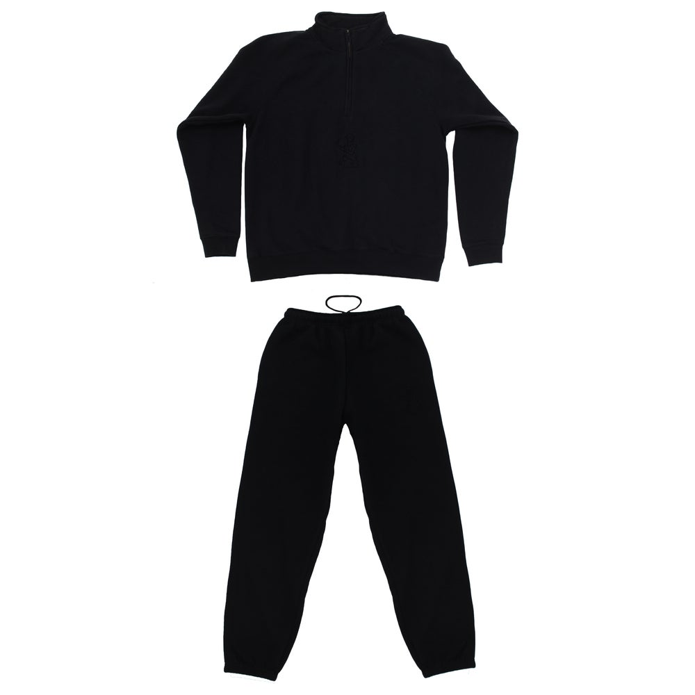 Image of Broski - Medallion Tracksuit Black