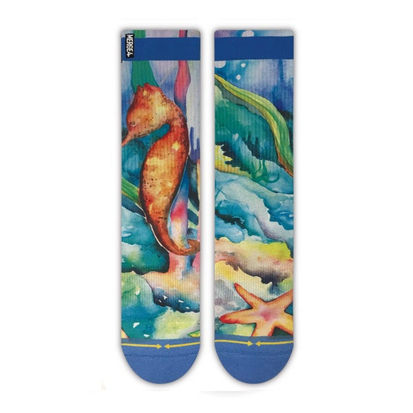 Image of Seahorse, Merge4 Socks