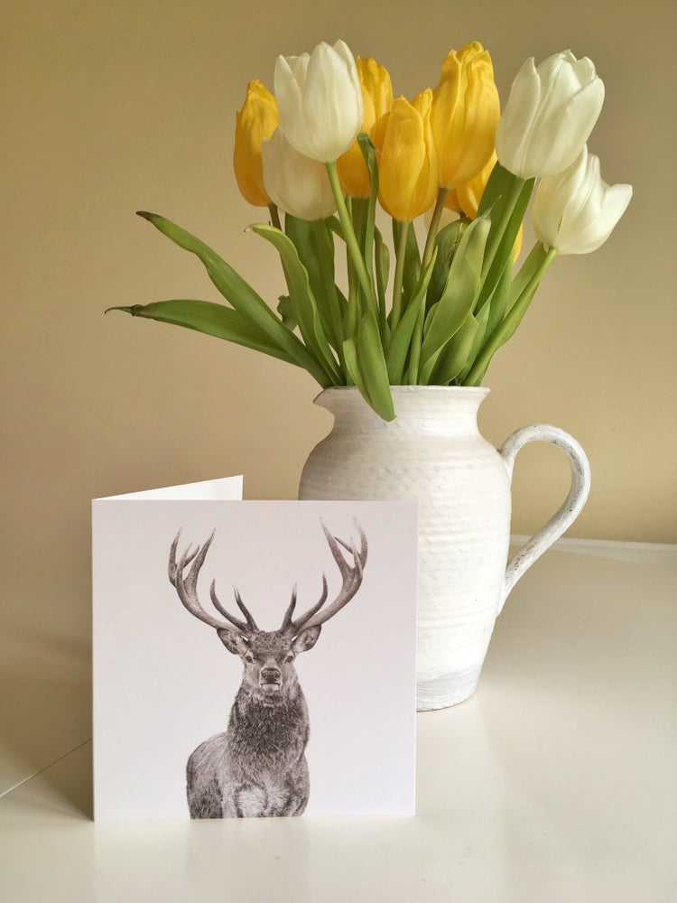 Image of 'Prongs' greetings card