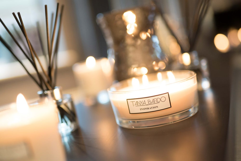 Image of NEW - Inspiration Cake Candle - Plum & Dark Berry