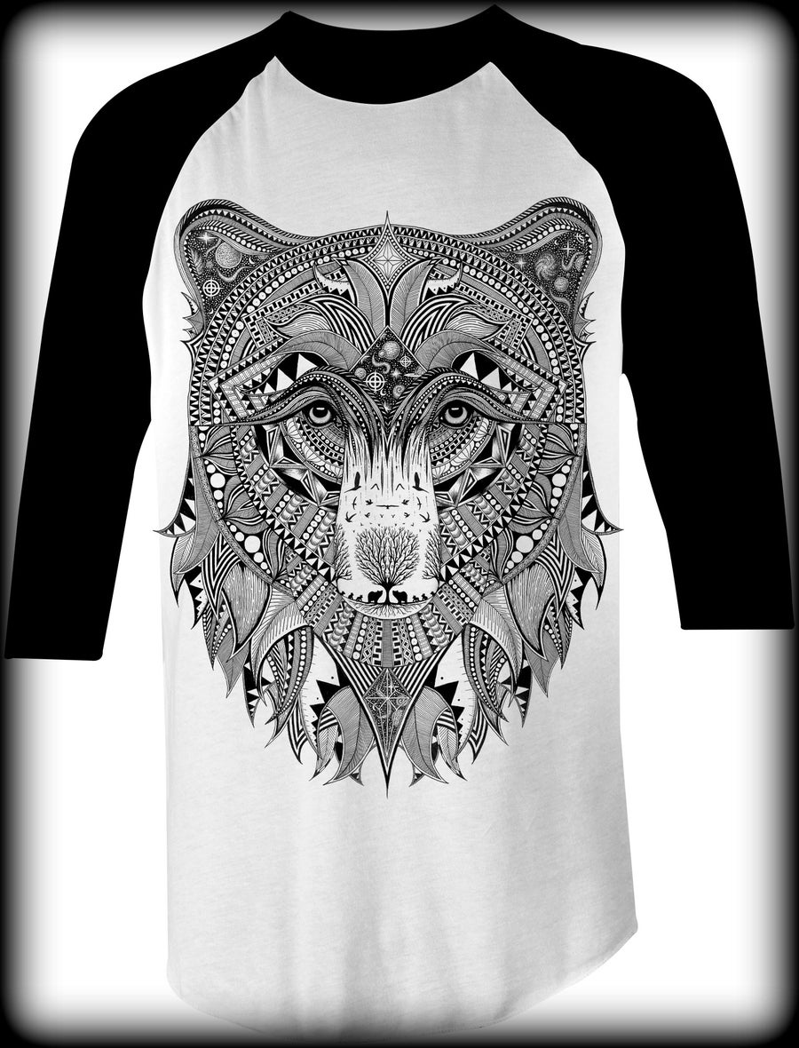 Image of Grizzly Baseball Tee