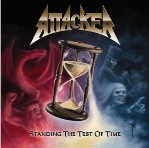 "Image of Attacker ""Standing The Test Of Time"" CD"