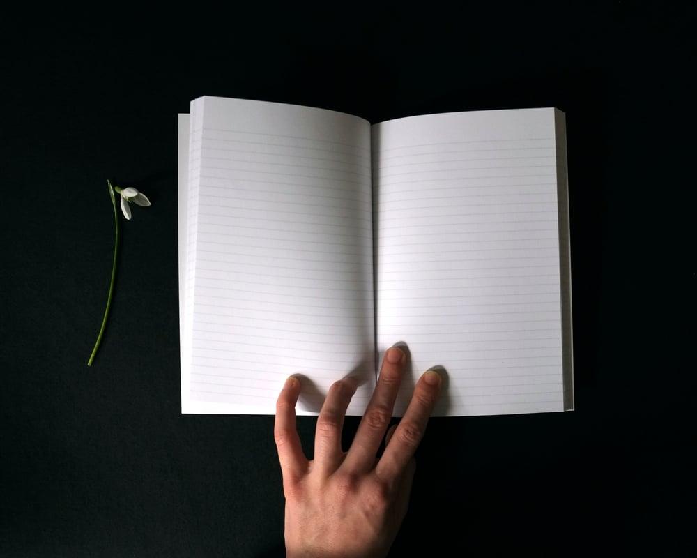 Image of Amaranthine Notebook - NEW (2 left of 150)