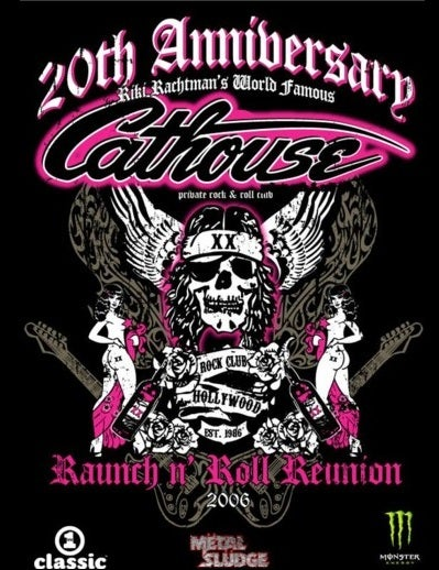Image of Caathouse 30th Annivesary Wall Poster
