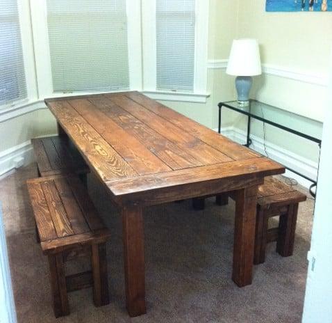 Image of Custom Farmhouse Style Dining Tables
