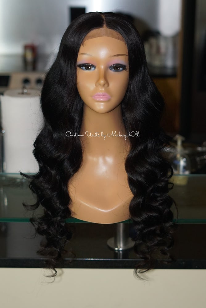 "Image of Peruvian Body Wave 24"" Custom Lace Closure Wig!"