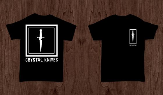 Image of Crystal Knives Short Sleeve Tee