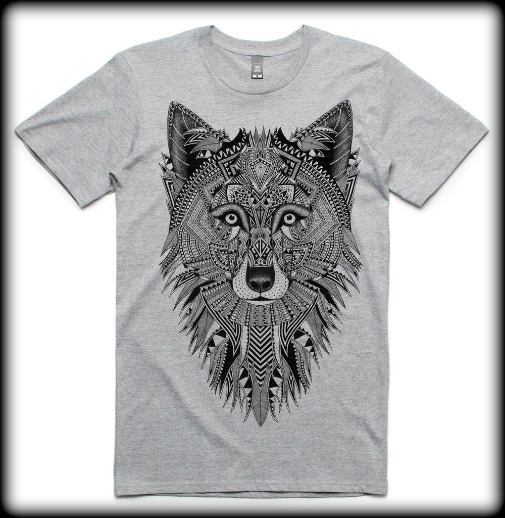 Image of Men's Wolf Tee