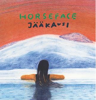 Image of HORSEFACE: JÄÄKAUSI LP (diskret #11)