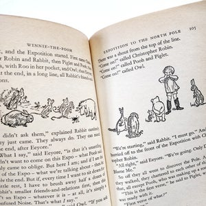 Image of A A Milne - Winnie-the-Pooh complete set of 4