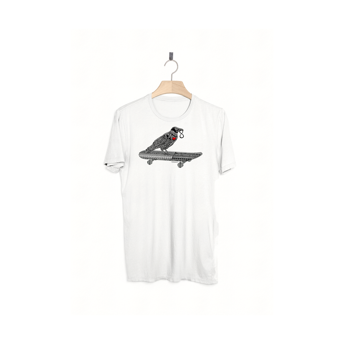Image of HABE 8 / T-Shirt / white
