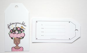 Image of Follow Your Bliss Gift Tags