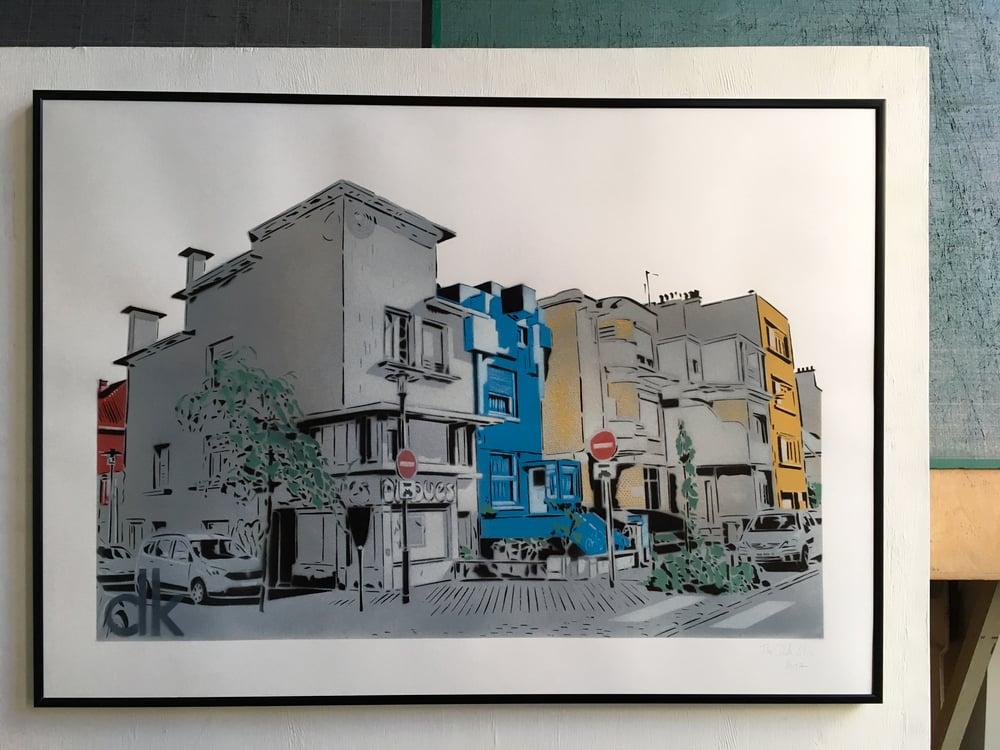 Image of Quartier Excentric - Dunkerque - Papier Blanc