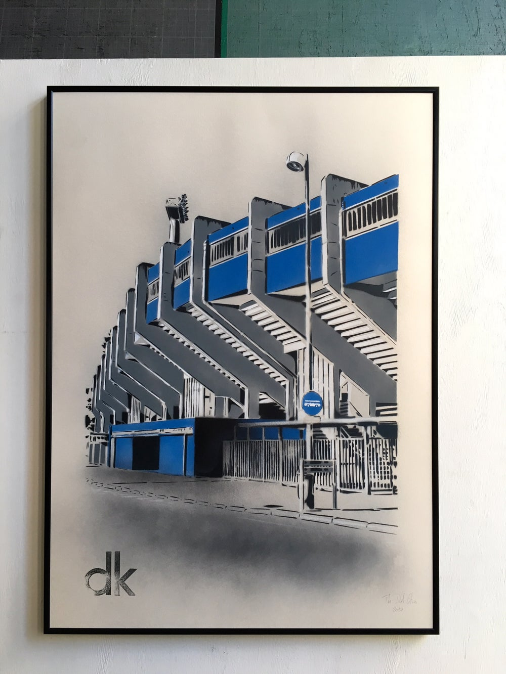 Image of Stade Marcel Tribut - Dunkerque - Papier Ivoire