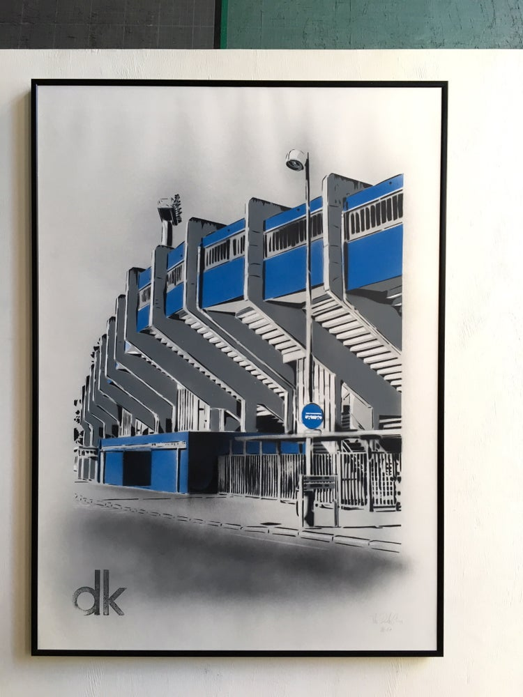 Image of Stade Marcel Tribut - Dunkerque - Papier Blanc