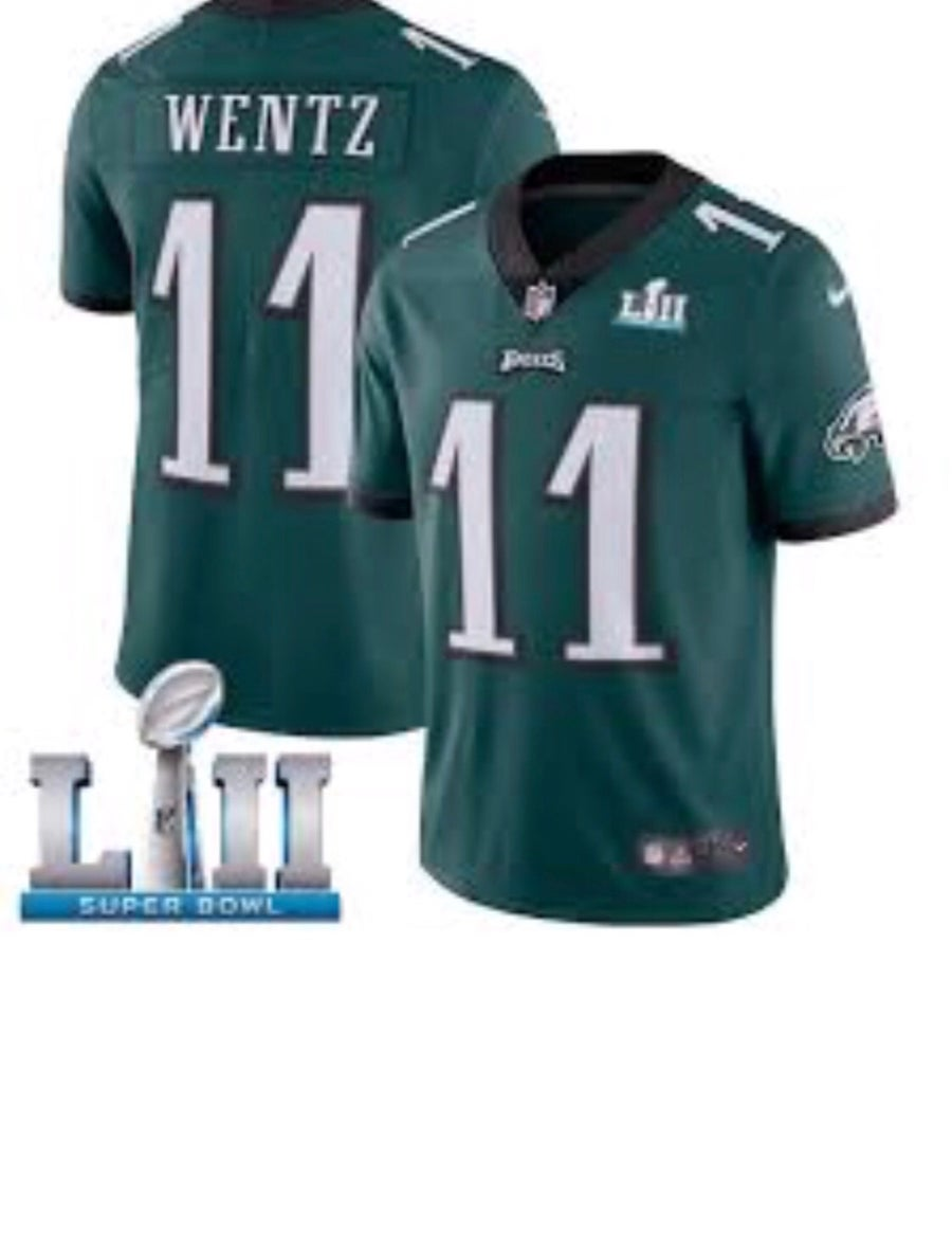 Image of Carson Wentz Super Bowl Jersey #11