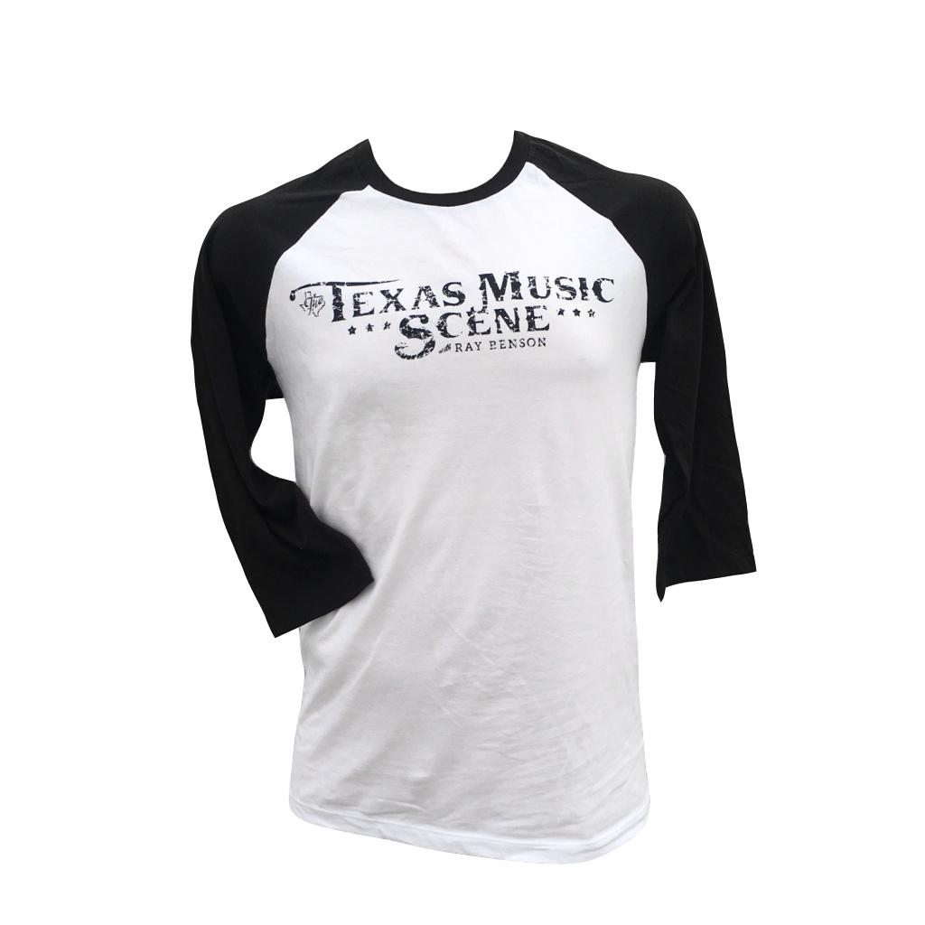 Image of TMS Baseball Shirt (White/Black)