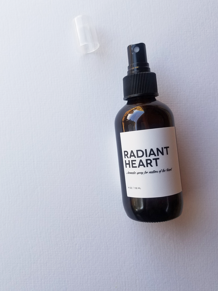 RADIANT HEART, Aromatic spray for matters of the Heart