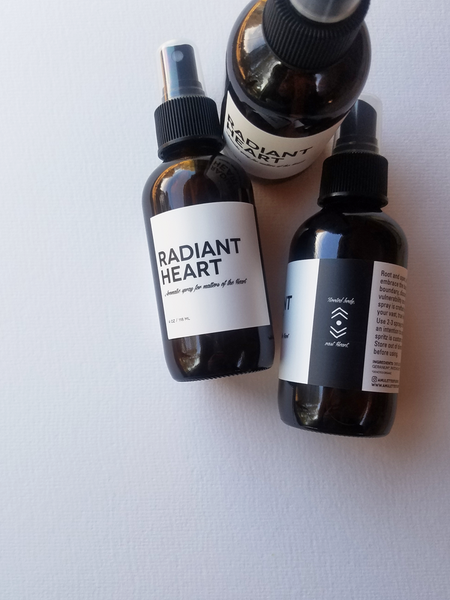 Image of RADIANT HEART, Aromatic spray for matters of the Heart