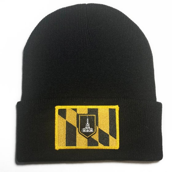 Image of Baltimore Flag Beanie