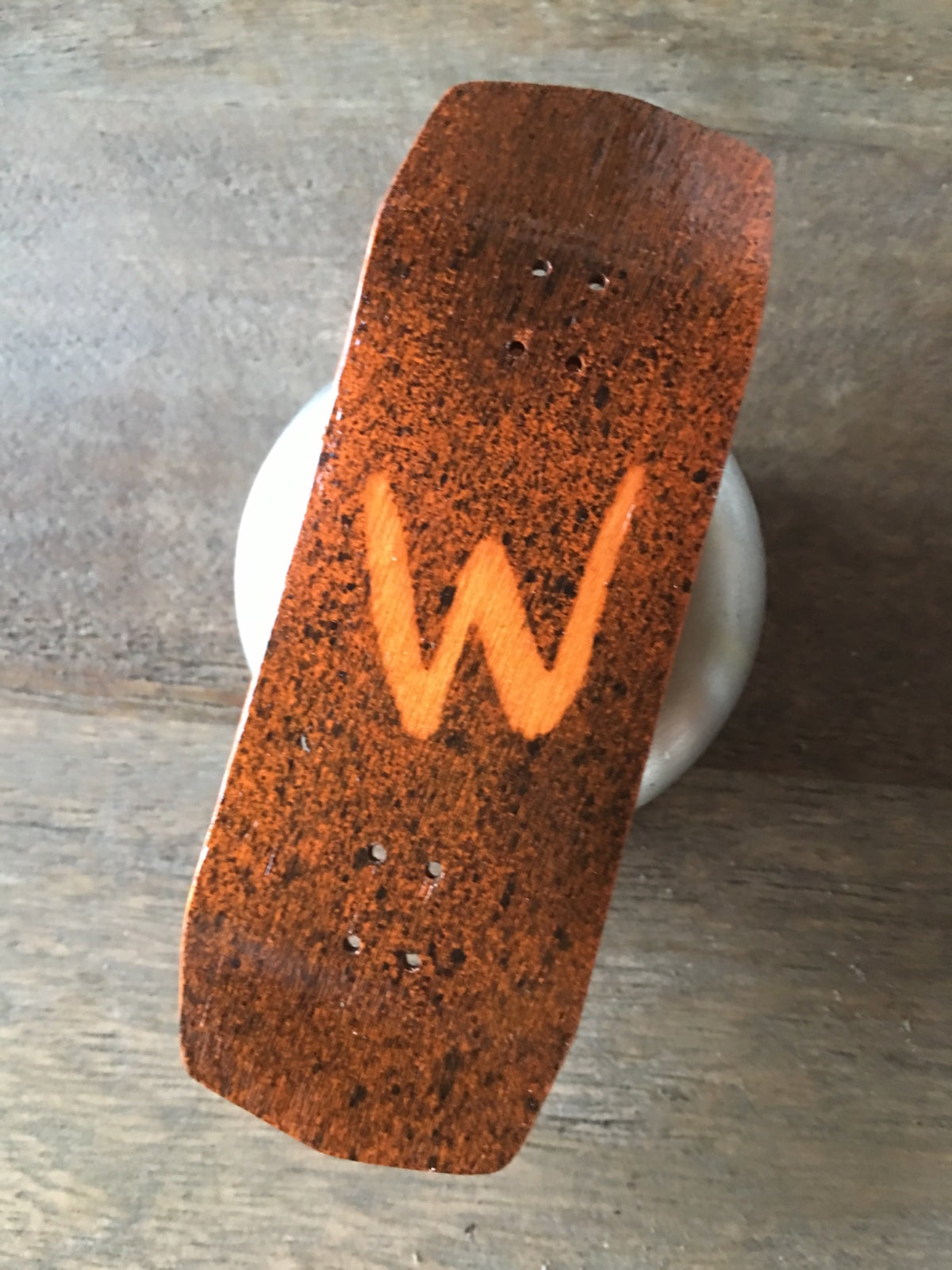 WCKD Orange 34mm Fingerboard (Reaper)