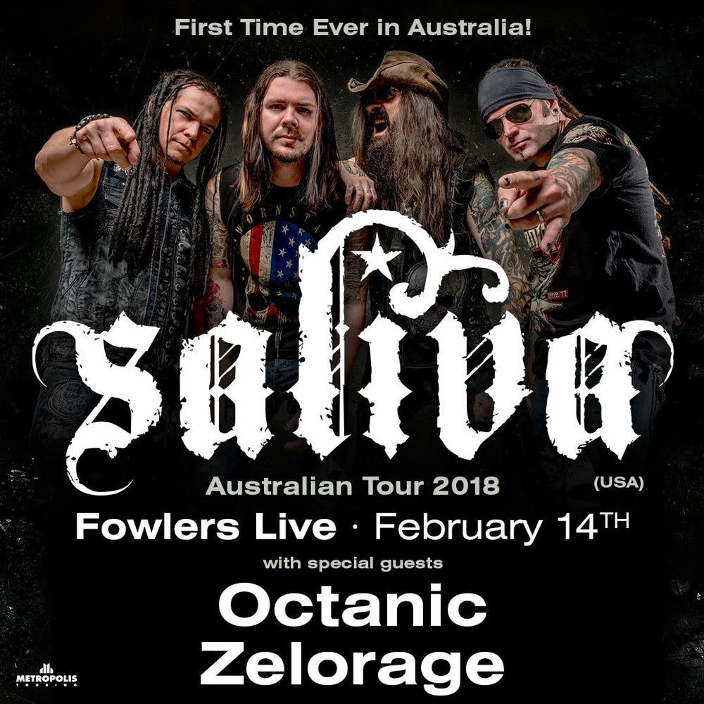 Image of Discounted Saliva Ticket