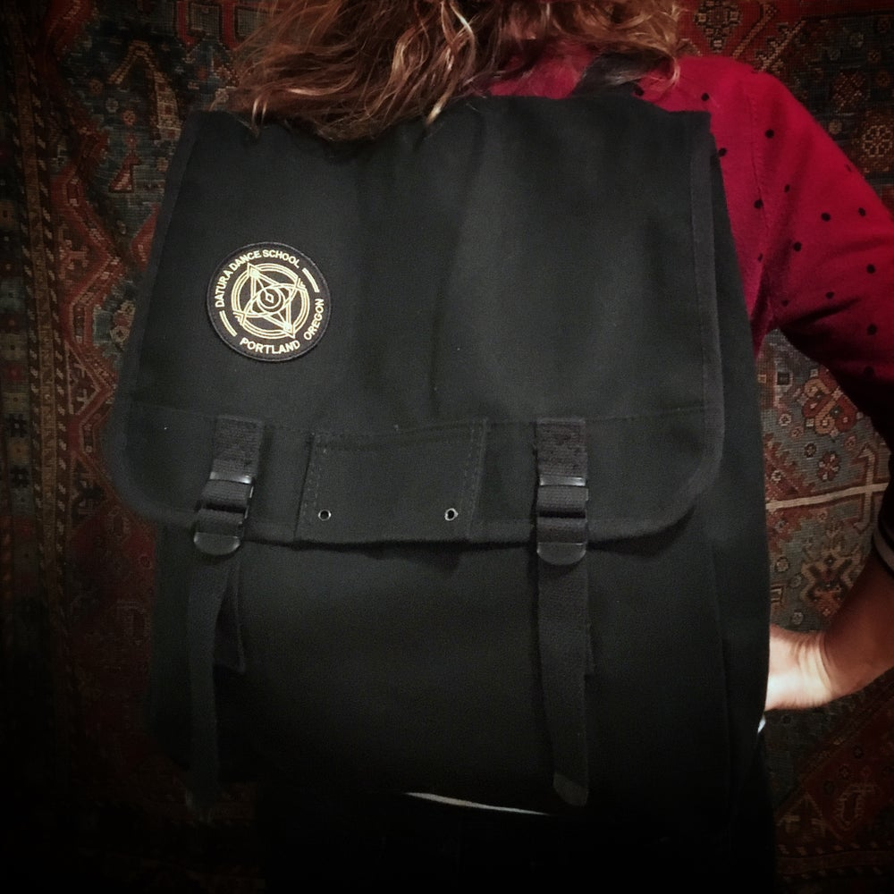 "Image of ""Penabranca"" Patched Backpack"