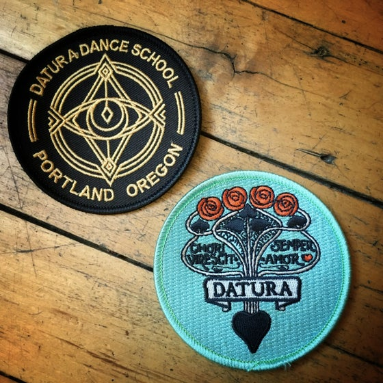 Image of Datura Iron-on Patches