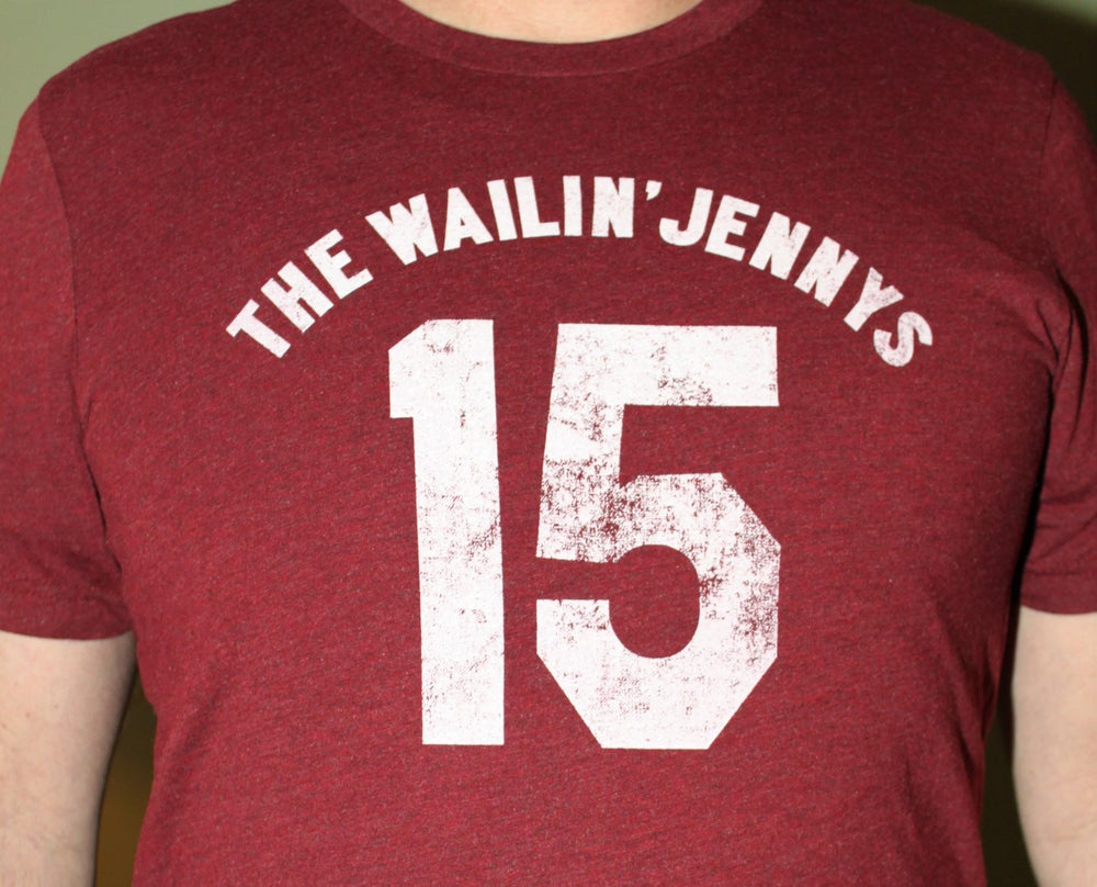Image of Men's '15' Jersey T-shirt - Red