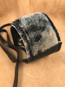 Image of Black Leather and Sealskin