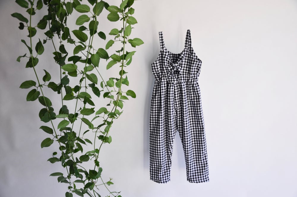 Image of Valentine Romper in Gingham