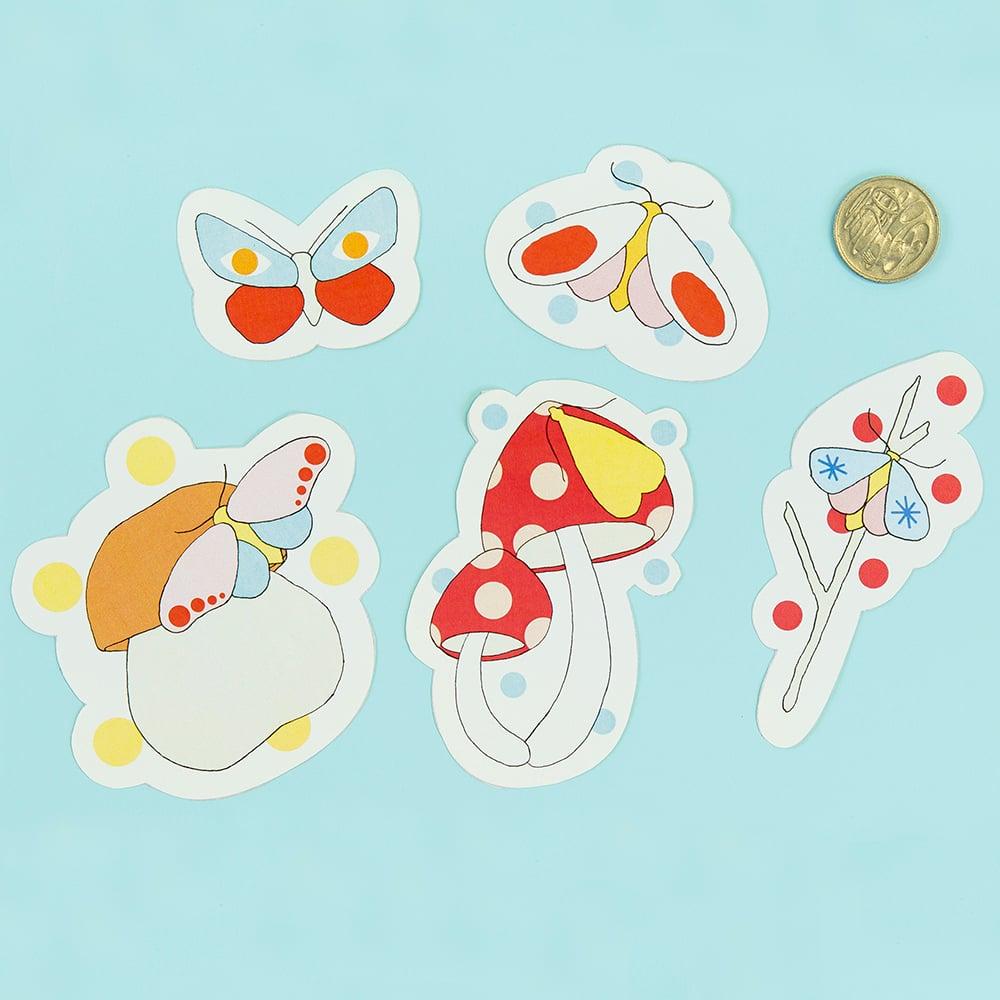Image of Mothshroom Sticker Pack