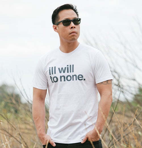 Image of Ill Will to None (White)