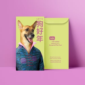 Image of Pawsperous New Year Red Packet (A set of 9)