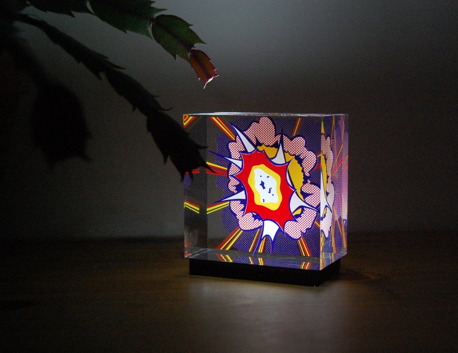 Image of Explosion light sculpture