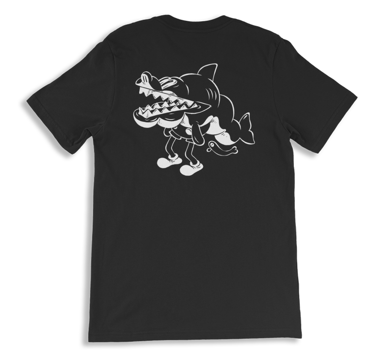 Image of Shucks Tee - B&W