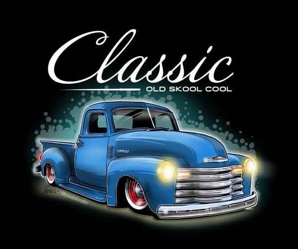 Image of Classic Ol Skool Blue