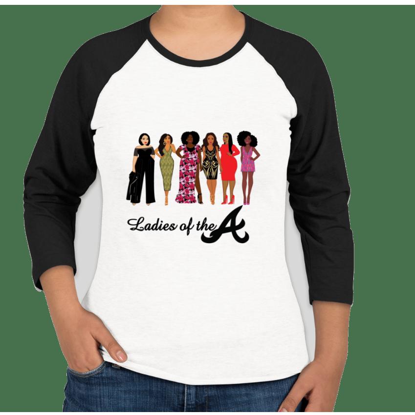 Image of Ladies of the A Raglan Sports Shirt