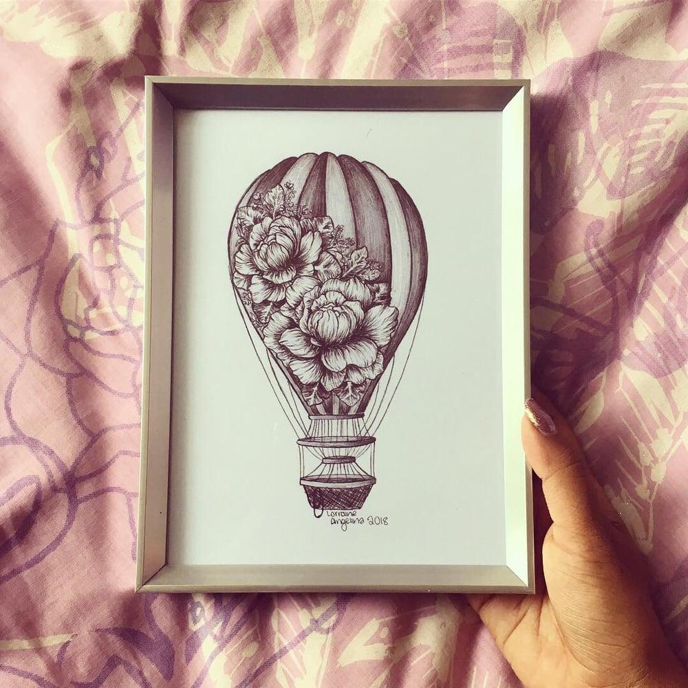 Image of Peony Hot Air Balloon