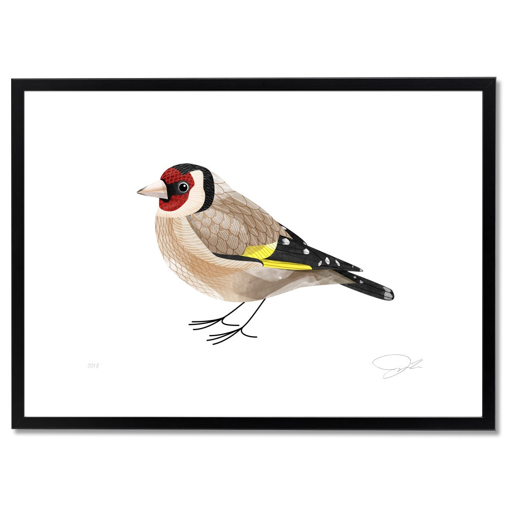 Image of Print: Goldfinch