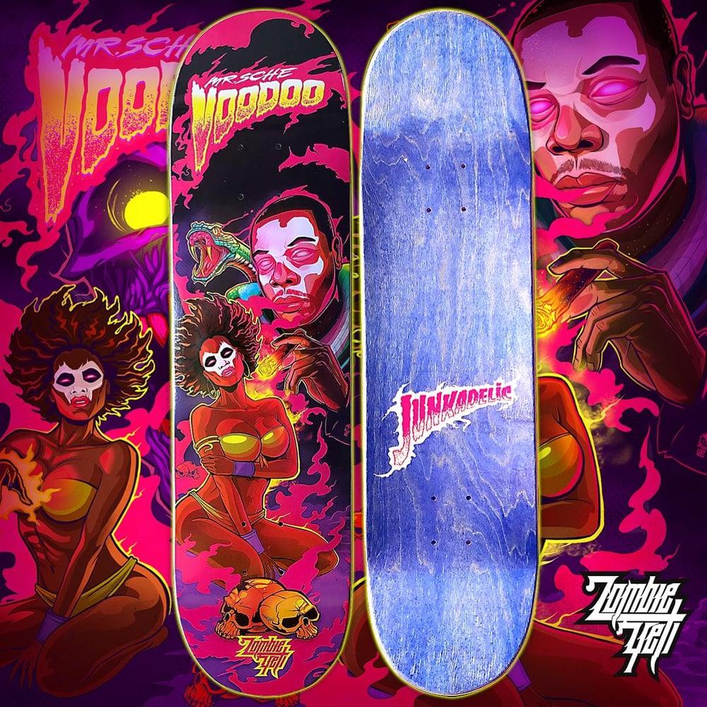 Image of Zombie Yeti x Mr. Sche - Voodoo deck 8.0