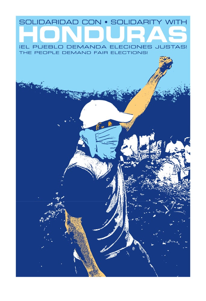 Image of Solidarity with Honduras (2010)