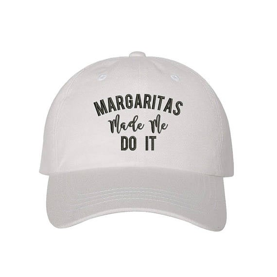 Image of Wholesale - One Dozen - Margaritas Made Me Do It Baseball Hat