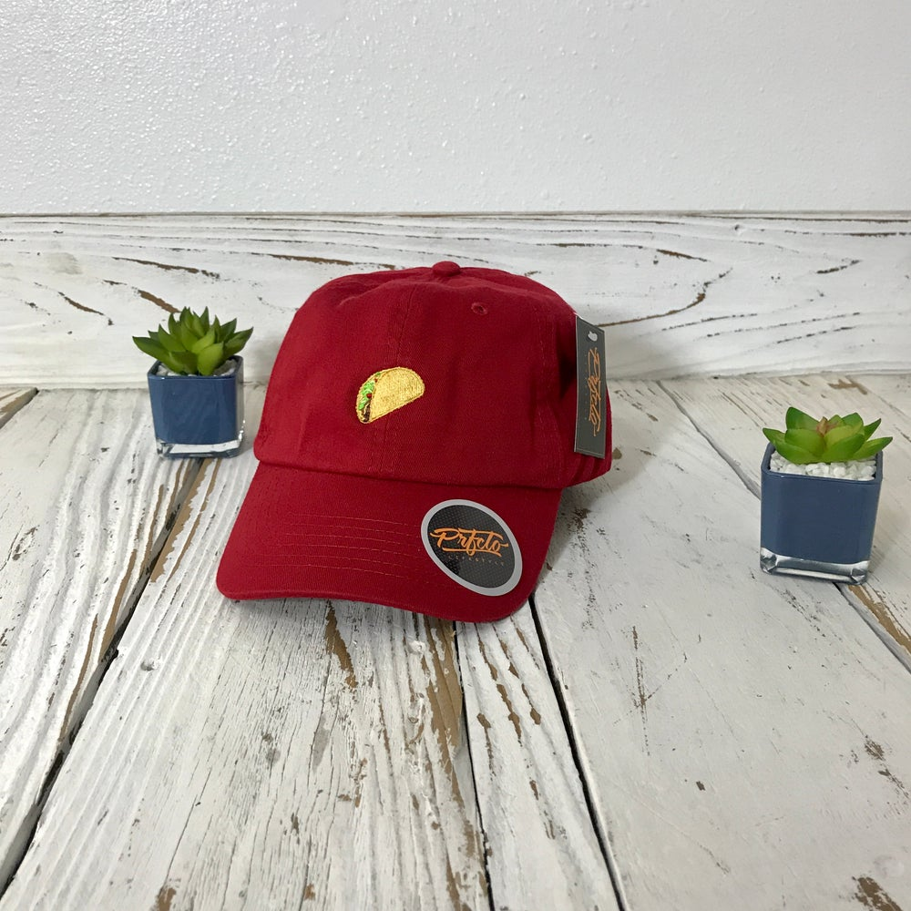 Image of Wholesale - One Dozen - Taco Baseball Hat
