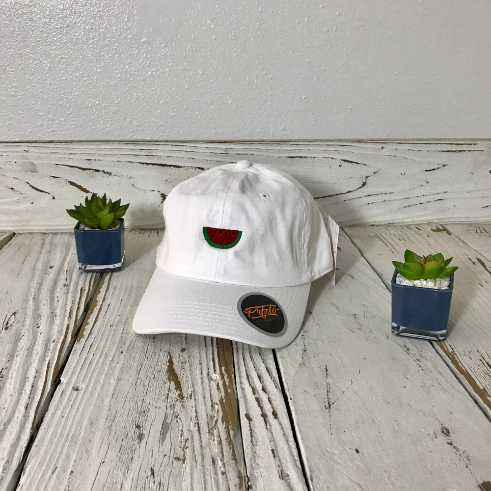 Image of Wholesale - One Dozen - Watermelon Baseball Hat