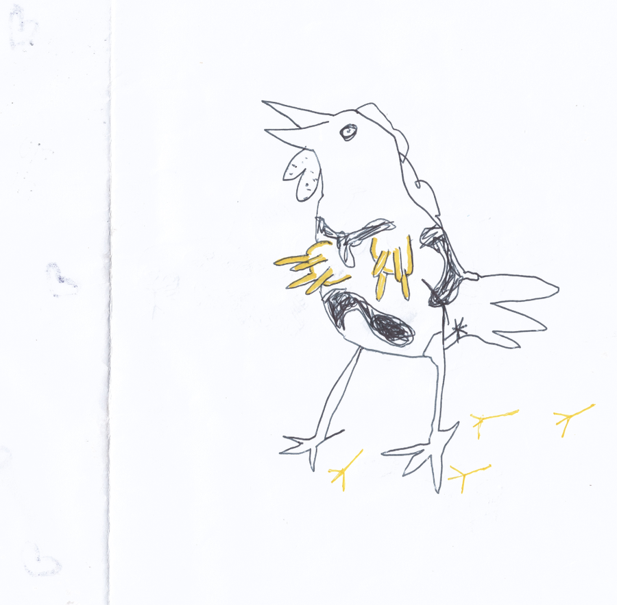Image of Chicken Cow zine #1 / A5 / 2014
