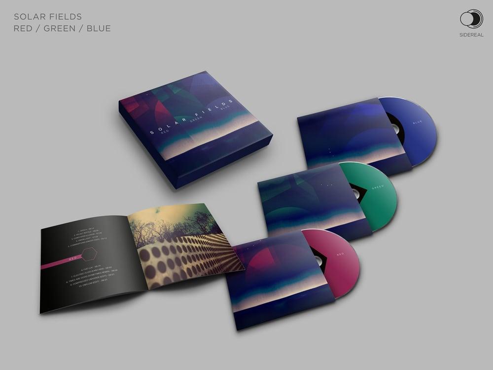 Image of Solar Fields 'RGB' Triple cd box set