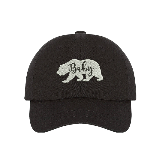 Image of Wholesale - One Dozen - Baby Bear Shape Baseball Hat